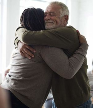hugging-reconciliation